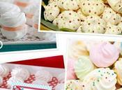 Mesas dulces: merengues