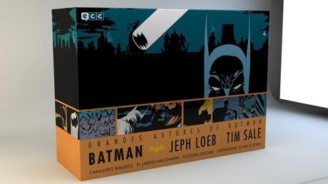 [Ndp]-Batman lanza Batman:Jeph Loeb y Tim Sale Box Set