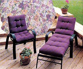 Renovar los muebles de exterior con cojines paperblog - Cojines muebles exterior ...