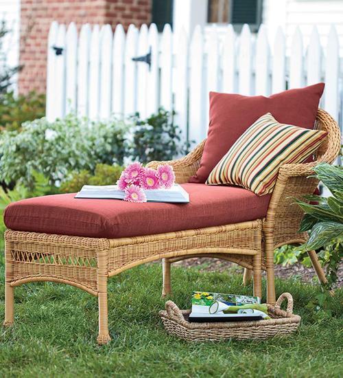 Renovar los muebles de exterior con cojines - Paperblog