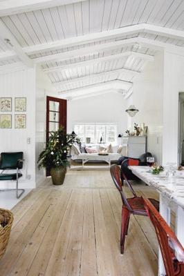 Casa rustica escandinava con toques vintages paperblog - Casas escandinavas ...