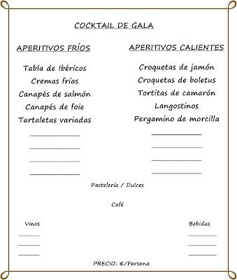 Cocktail de Gala