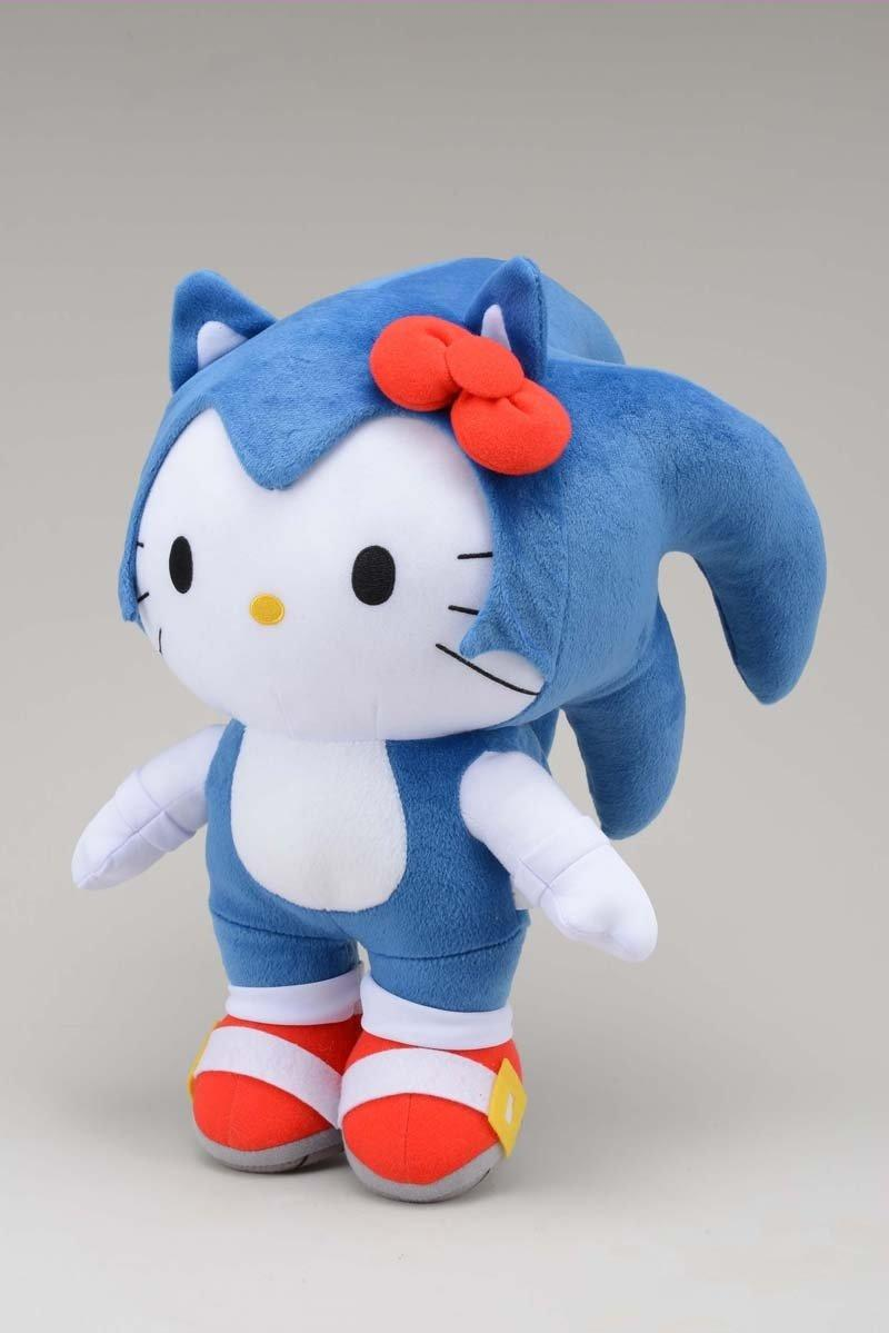 sonic kitty SEGA fusiona a Sonic con Hello Kitty y prepara un cómic crossover con Mega Man