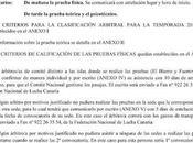 Convocatoria pruebas los/as árbitros/as lucha canaria 2012/2013