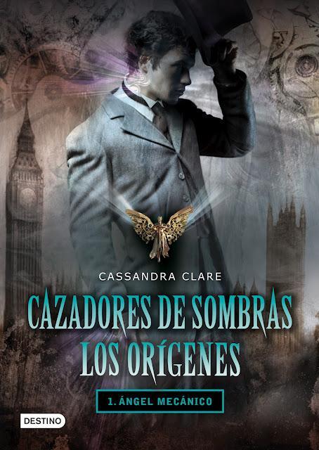 Desvelada la cubierta extranjera de Cazadores de Sombras. Los Orígenes: Clockwork Princess