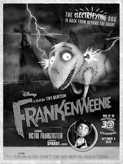 Tercer cartel de Frankenweenie