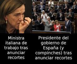 Los `sablazos´ de Rajoy