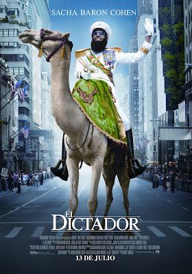 Estrenos: El Dictador, El Pacto y Lobos de Arga