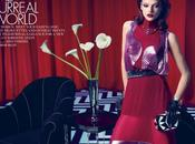 "Vintage Room: ""The Surreal World"" ELLE U.S. August 2012"