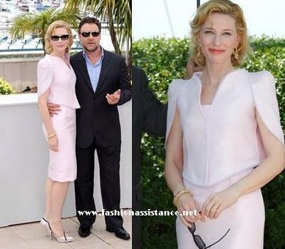 Comienza el Festival de Cannes 2010. Cate Blanchett en Armani Privé