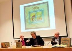 Presentación de 'Milu' de Manuel Rivas y Aitana Carrasco