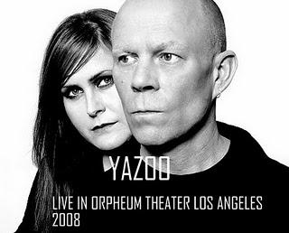 YAZOO - LIVE IN ORPHEUM THEATER (LOS ANGELES 2008)