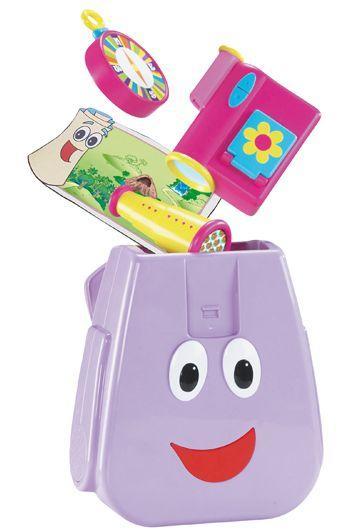 La mochila parlanchina de Dora Exploradora