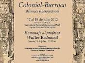 Programa «Coloquio Internacional Pensamiento Colonial-Barroco. Balances Perspectivas»