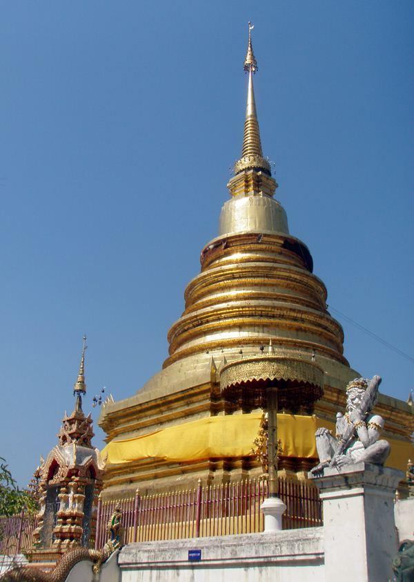 Chedi Templos de Tailandia: de chedis y estupas.