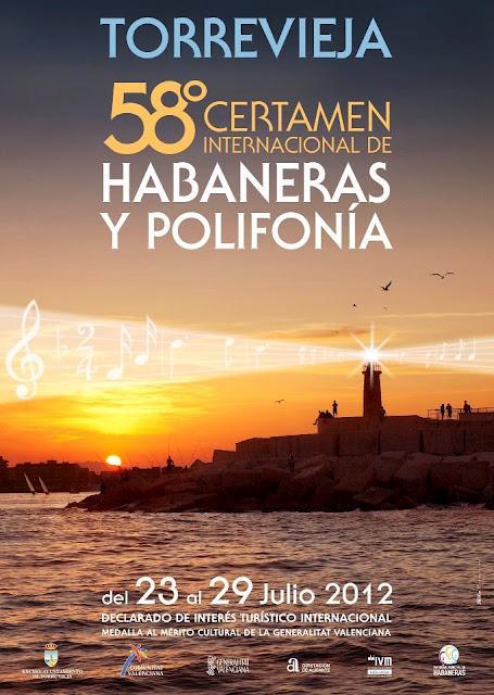 Torrevieja. LVIII Certamen Internacional de Habaneras y Polifonía de Torrevieja 2012