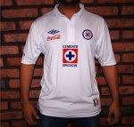 Nueva camiseta Umbro del Cruz Azul; temporada 2012-2013