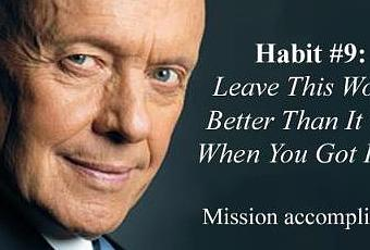 position paper on stephen covey The training project on 7 habits of highly effective people summary will help you understand stephen covey's view of in a relaxed position and thinking about.