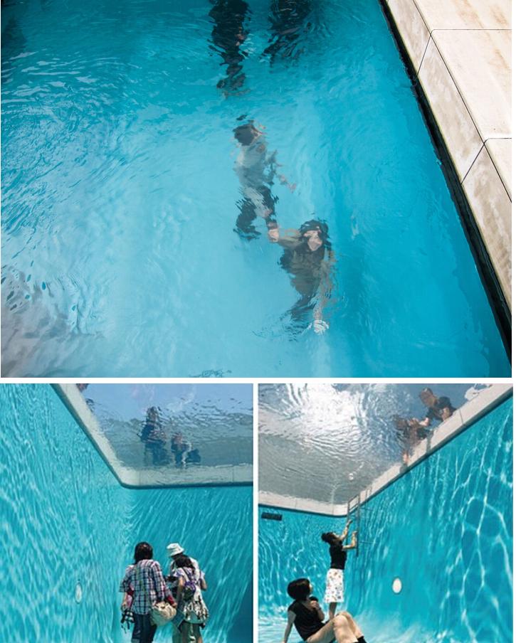 C mo se puede estar dentro de una piscina sin ning n for Piscina siglo xxi