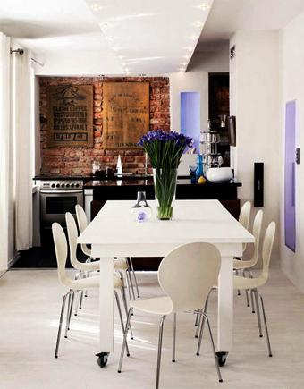 Ladrillos para una cocina moderna paperblog for Una cocina moderna