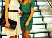 Sequins dress.