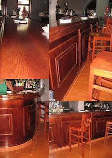 Barra de bar de madera paperblog for Barras de madera bar