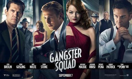 Toma póster-banner de `Gangster Squad´