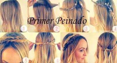 Moda Estilo Y Color Peinados Faciles 3
