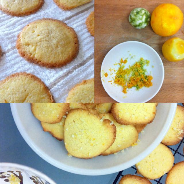 Sugartremens 02: citrus sablés y cocina vintage