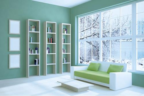 Como pintar un cuarto de dos color es for Colores para pintar una habitacion
