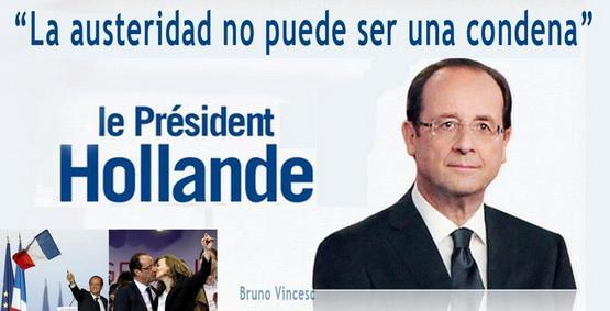 François Hollande funciona