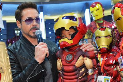 IRON MAN 3: El show de Robert Downey Jr.
