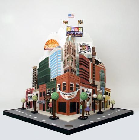 tarta ciudad