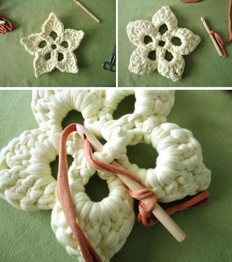 manualidades con ganchillo o crochet para tejer trapillo