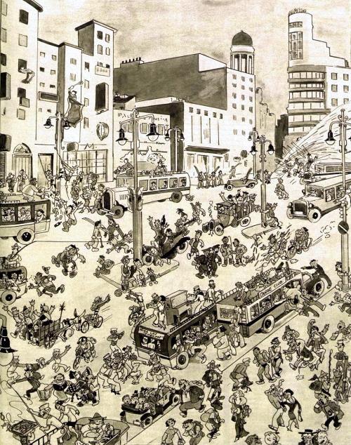 Gran Vía de Madrid, 1934