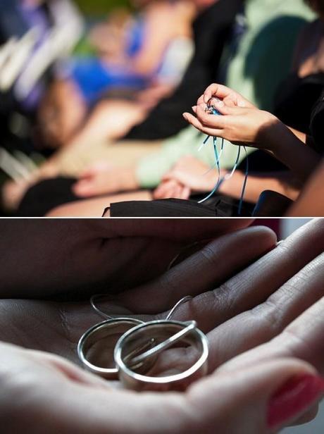 Calentando los anillos en la boda-Ring warming ceremony