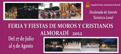 Otras Fiestas de la Provincia de Alicante: Finales de julio 2012