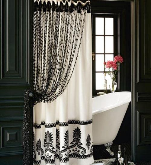 Necesito Un Baño Juego:Bathrooms with Shower Curtains