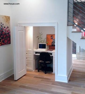 Interiores con espacio adicional paperblog for Soluciones bajo escalera