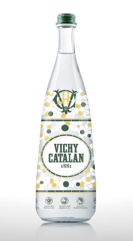 Vichí Catalán 1881 y su nueva botella Vitrall