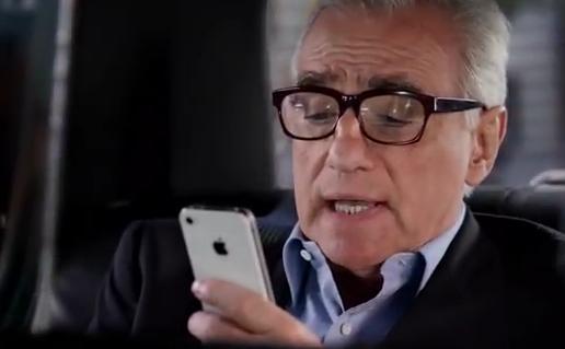 La discusión de Martin Scorsese con Siri
