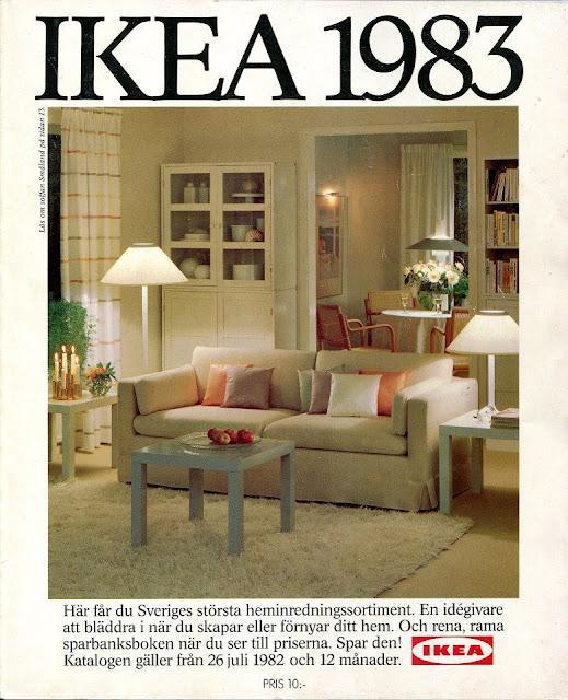 60 años de portadas del Catálogo de Ikea