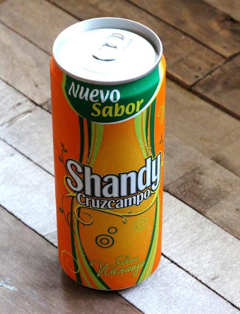 Probamos la nueva Shandy de naranja de Cruzcampo