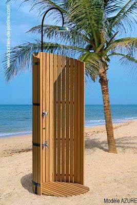 duchas de piscina y exteriores paperblog