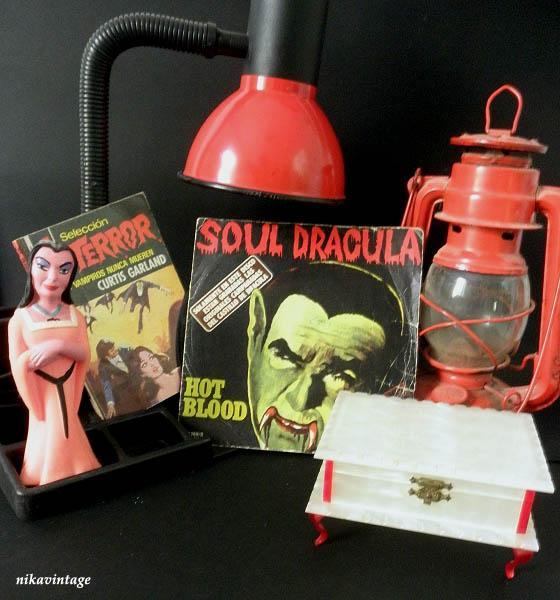 Drácula y vampiros Kitsch