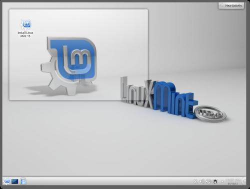 linux mint 13 KDE Lanzado Linux Mint 13 con los escritorios KDE y XFCE