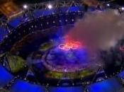 Londres 2012 Carrosas fuego, inauguración Juegos Olímpicos