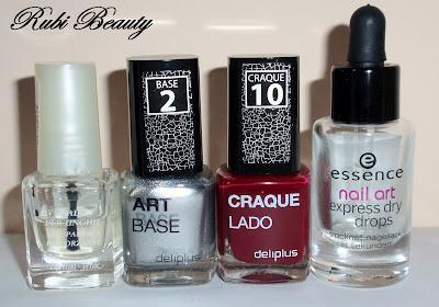Nail Art | Uñas crackeladas