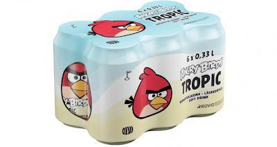 Angry Birds lanza su propia bebida