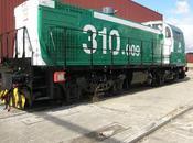 Adif cambia ancho tres locomotoras serie